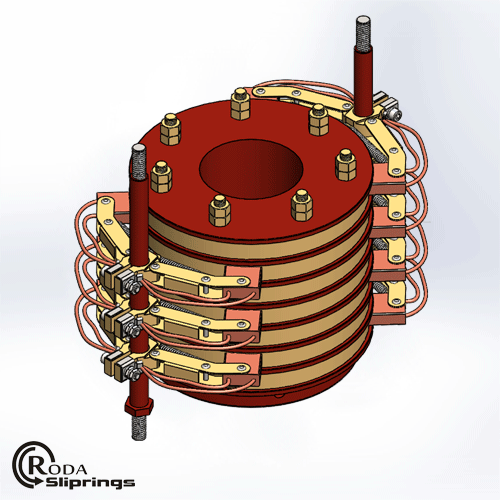 Separate Slip Rings